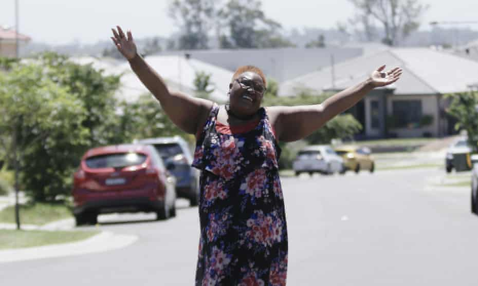 Rosemary Kariuku, Australian Local Hero of the Year, as photographed for The Guardian